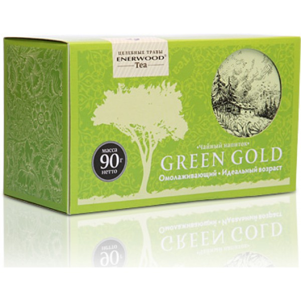 Чай Enerwood Green Gold
