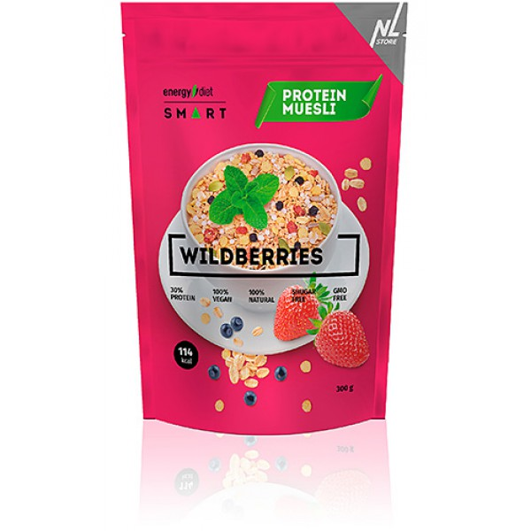 Мюсли Energy Diet Smart Wildberries (Ягодные мюсли)