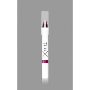 Матовая губная помада TenX, 10 Фиолетовый